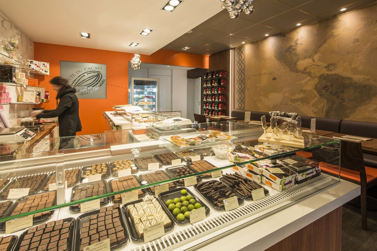 Agencement Chocolaterie Pinault - Le Croisic (44)