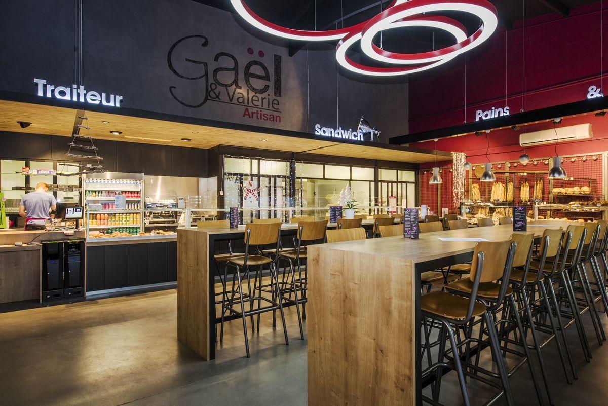 Agencement Boulangerie Pâtisserie Gaël - Auray (56)