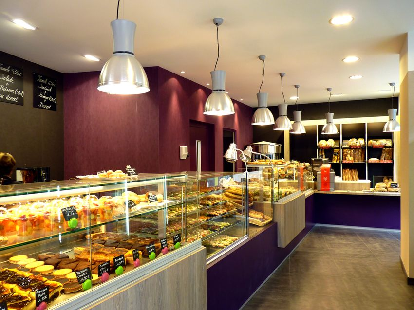 Agencement Boulangerie Pâtisserie Canton - Angers (49)