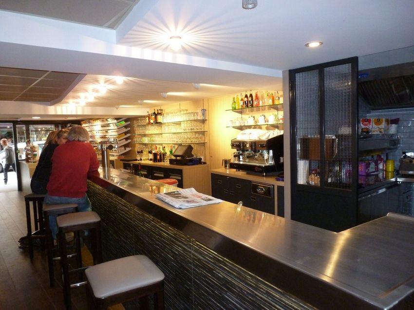 Agencement Bar Tabac Bistrot des Halles - Saint Servan (35)
