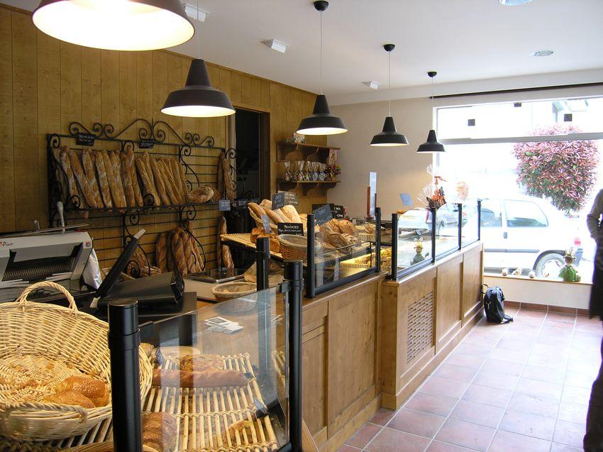 Agencement Boulangerie Pâtisserie Vincent - ST Aubin du Cormier (35)