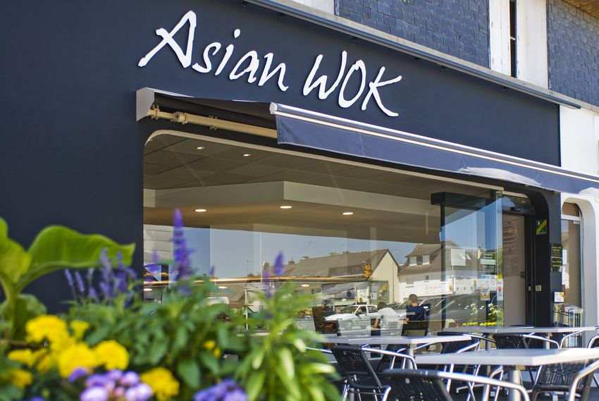 Agencement Traiteur asiatique Asian Wok - Bruz (35)